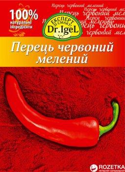 Упаковка перца красного Dr.IgeL молотый 20 г х 12 шт (34820155170215)