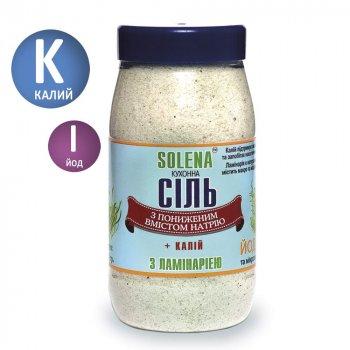 Сіль з калієм ламинарией SOLENA із зменшеним вмістом натрію 700 г