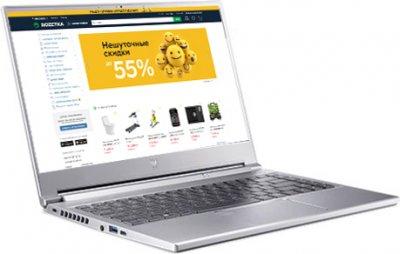 Ноутбук Acer Predator Triton 300 SE PT314-51s-73N5 (NH.QBJEU.009) Sparkly Silver