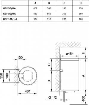 GORENJE GBF 80 V9