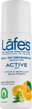 Дезодорант Lafe's Active Цитрус и Бергамот 88 мл (792870052028)
