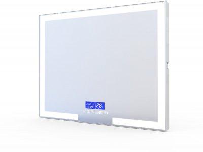 Зеркало VOLLE 16-14-80080x60 см с Bluetooth, LED-подсветкой,часами и подогревом