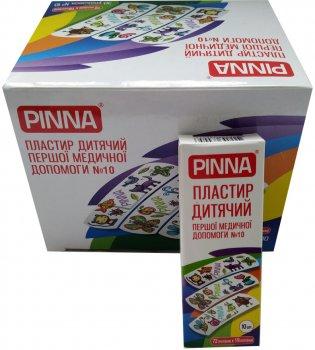 Пластырь детский первой медицинской помощи Pinna Kids на полимерной основе 72х19 мм №10 шт (4820203730056)
