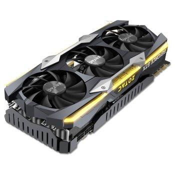 Zotac PCI-Ex GeForce GTX 1080 Ti AMP Extreme 11GB GDDR5X (352bit) (DVI, HDMI, 3 x DisplayPort) Б/В