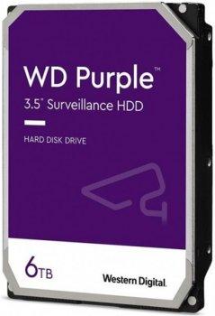 Накопитель HDD SATA 6.0TB WD Purple 5400rpm 128MB (WD62PURZ)