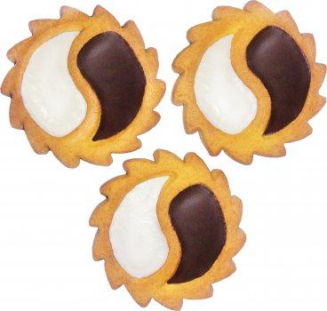 Печенье Делиция сдобное Инь - Янь 3.5 кг (4820167919702)