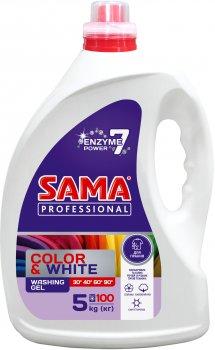 Гель для стирки Sama Professional Color & White 5 л (4820020268824)