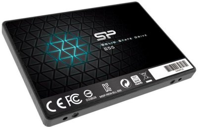 "Накопичувач Silicon Power Slim S55 120GB (2.5"", SATA III, SSDPR-CL100-120)"