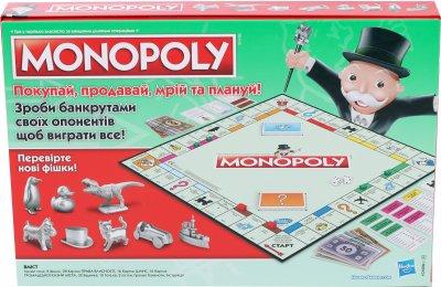 Класична Монополія Hasbro Українська версія Оновлена (C1009657)