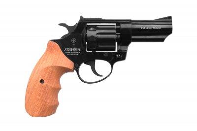 """Револьвер под патрон флобера """"PROFI-3"""" (черный/бук) (Z20.7.1.005)"""
