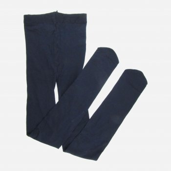 Колготки H&M КОЛ00008 128 см Темно-синие (hm00549649228)