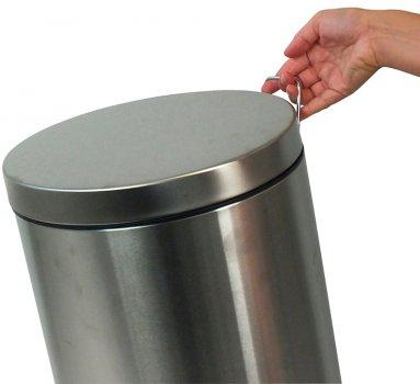 Відро для сміття KELA Mala 12 л (10927) матова неіржавка сталь