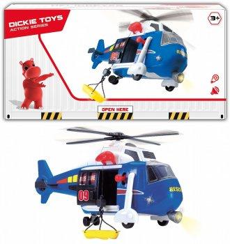 Вертолет Dickie Toys Авиация с носилками (1137001) (4006333060823)