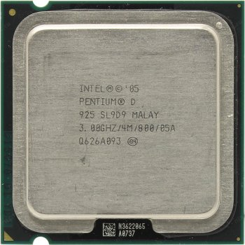Процесор Intel Pentium D925 3.00 GHz/800MHz/4096k (SL9D9) s775, tray