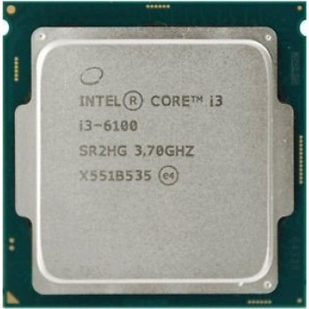 Процесор Intel Core i3-6100 3.70 GHz/3MB/8GT/s (SR2HG) s1151, tray