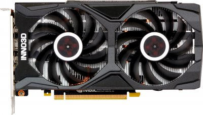 INNO3D PCI-Ex GeForce GTX 1660 Super Twin X2 6GB GDDR6 (192bit) (1785/14000) (HDMI, 3 x DisplayPort) (N166S2-06D6-1712VA15L + ATX-500PNR PRO)