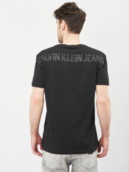 Футболка Calvin Klein Jeans Ck Sliced Back Graphic Tee J30J317499-BEH Pvh Black