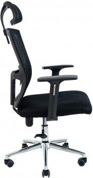 Кресло Rondi Зума хром Черное (1410198430)