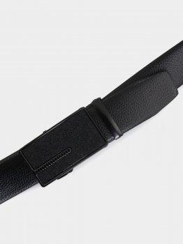 Мужской ремень Traum 8710-24 120 см Черный (4820008710246)
