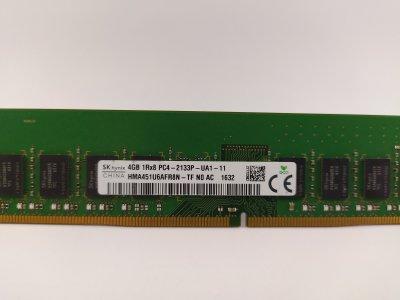 Оперативная память SK hynix DDR4 4Gb PC4-2133P (HMA451U6AFR8N-TF) 4261 Б/У