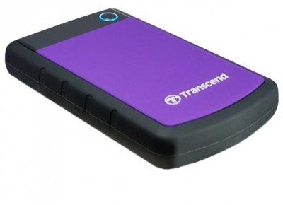 Накопичувач Transcend StoreJet 25H3P 2TB 2.5 USB 3.0 Purple (TS2TSJ25H3P)