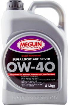 Моторна олива Meguin Super Leichtlauf Driver SAE 0W-40 5 л (4015838048953)
