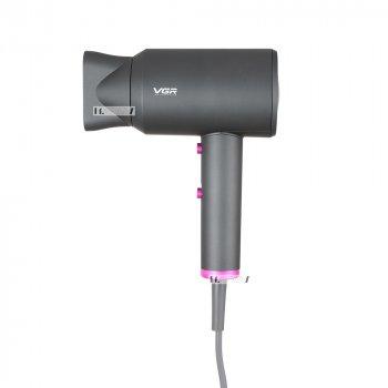 Фен для волос электрический с холодным и горячим воздухом с концентратором 2000W VGR (V-400)