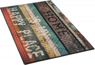 Брудозахисний килимок MultyHome Lima Happy Place 45х75 (5903104900557)
