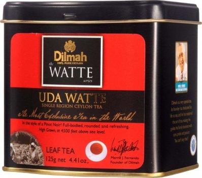 Чай черный рассыпной Dilmah Uda Watte 125 г (9312631131673)