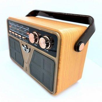 Радіо акумуляторне з Bluetooth і пультом управління Kemai Retro Gold