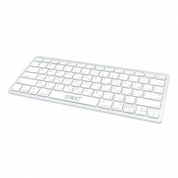 Бездротова Bluetooth клавіатура Wireless Keyboard X5 ART-3710 Біла
