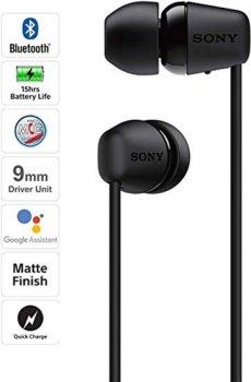 Наушники Sony WI-C200 Black (WIC200B.CE7)