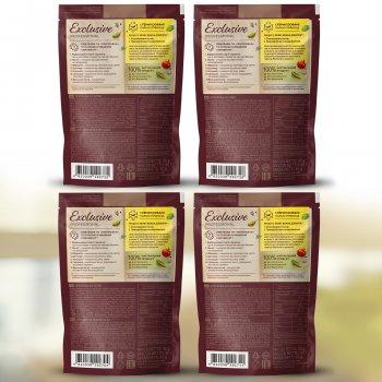 Набор натуральных приправ без соли Pripravka Exclusive Professional: для курицы, для плова, для рыбы, для шашлыка 4 шт (4820195513842)