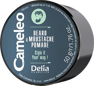 Помадка для бороди та вусів Delia Cosmetics Cameleo 50 г (5901350470909)