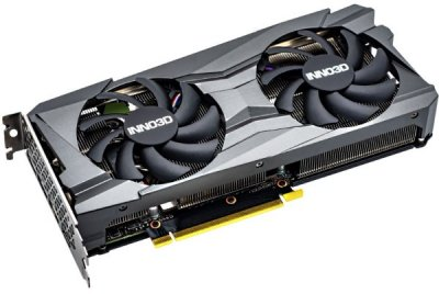 Відеокарта Inno3D GeForce RTX 3060 Twin X2 OC 12GB GDDR6 (192bit) (1792/15000) (3 x DisplayPort, HDMI) (N30602-12D6X-11902120)