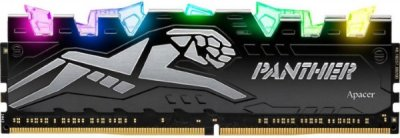 Пам'ять DDR4 RAM 8GB Apacer 3200MHz PC4-25600 Panther Rage RGB (EK.08G21.GJN)