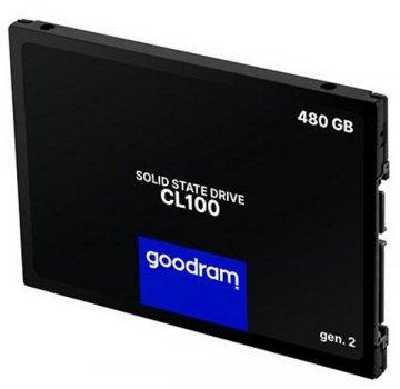 """Твердотільний диск SSD 2.5"""" 480GB Goodram CL100 SATA 3, TLC (SSDPR-CL100-480-G3)"""