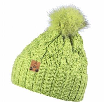 Зимняя шапка Anmerino Дарина 54-56 см Салатовая (4823055564343)