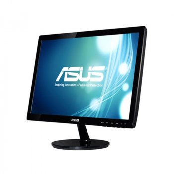 "Монітор ASUS 18.5"" VS197DE Black; 1366x768, 5 мс, 200 кд/м2, D-Sub"