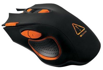 Мышь Canyon Corax CND-SGM05N Black/Orange USB