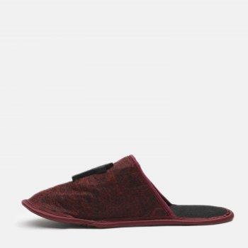 Комнатные тапочки FX shoes 2015 Бордово-серые