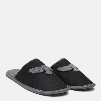 Комнатные тапочки FX shoes 2016 Черно-серые