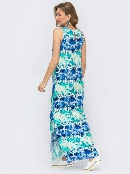 Платье Dressa 53450 Голубое
