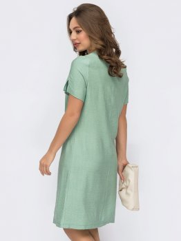 Платье Dressa 53734 Мятное