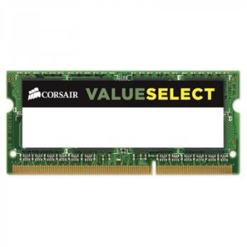 Модуль памяти для ноутбука SoDIMM DDR3L 8GB 1600 MHz ValueSelect CORSAIR (CMSO8GX3M1C1600C11)