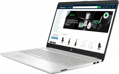Ноутбук HP Laptop 15-dw3003ur (2X2A6EA) Natural Silve