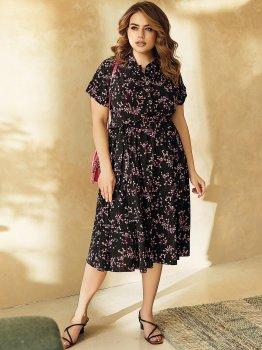 Платье Dressa 53833 Черное
