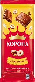 Упаковка шоколада Корона молочного с орехом 85 г х 29 шт (7622210815439)