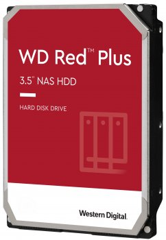 Жорсткий диск Western Digital Red Plus 12TB 5400rpm 256MB WD120EFAX 3.5 SATA III