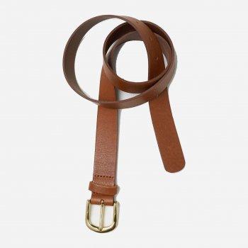 Женские ремень кожаный H&M 1903-179950 XS (90 см) Коричневый (hm01537592280)